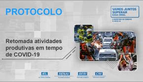 Protocolo de retomada das atividades produtivas em tempos de COVID-19