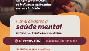 Canal de Apoio à Saúde Mental
