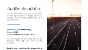 Convite para Audiência Pública 05/02/2021