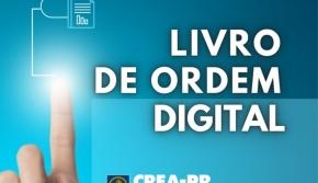 Crea-PR lança o Livro de Ordem digital