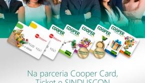 Sinduscon Parana Oeste e Coopercard/Ticket fazem parceria para Vale Alimentação
