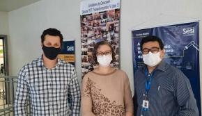 Lora participa de oficina com alunos do Colégio SESI