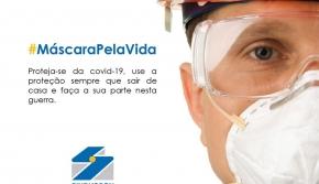 Campanha #máscarapelavida