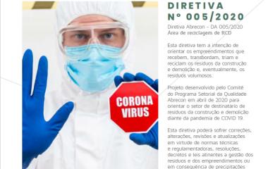 Cartilha Diretiva ABRECON – Destinação de resíduos da Construção Civil