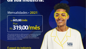 Colégio SESI Cascavel abreas matriculas para 2021