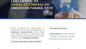 LANÇAMENTO PORTAL DE COMPRAS